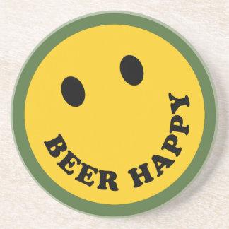 幸せなビールを心配しないで下さい コースター