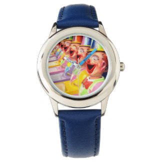 幸せなピエロの顔、 腕時計
