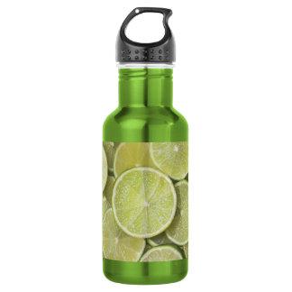 幸せなフルーツのライムグリーンの輝きの白熱輝やき ウォーターボトル