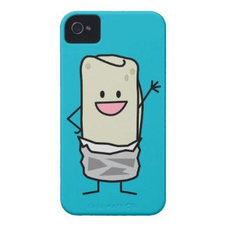 幸せなブリトーの振るこんにちは Case-Mate iPhone 4 ケース