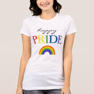 幸せなプライドの虹 Tシャツ