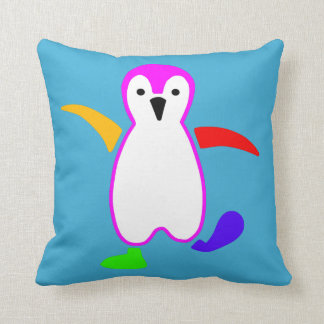 幸せなペンギン クッション