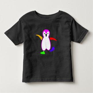 幸せなペンギン トドラーTシャツ