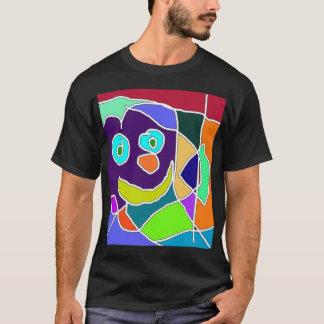 幸せなモザイク Tシャツ