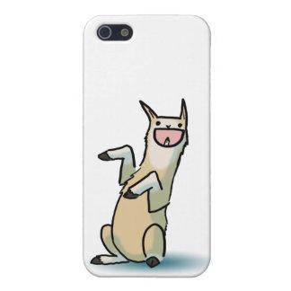 幸せなラマ iPhone SE/5/5sケース