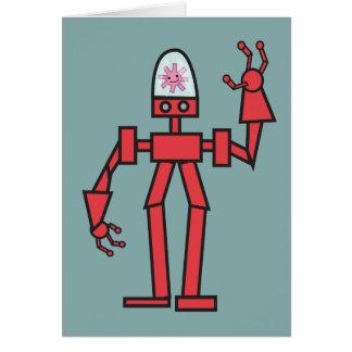 幸せなロボット カード