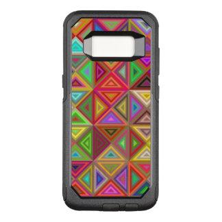 幸せな三角形のモザイク オッターボックスコミューターSamsung GALAXY S8 ケース