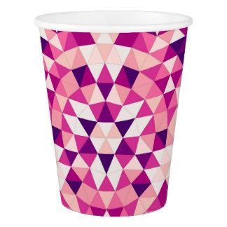 幸せな三角形の曼荼羅 紙コップ