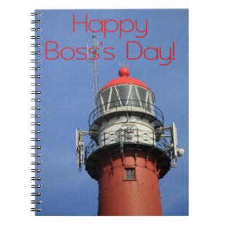 幸せな主任の日の灯台 ノートブック