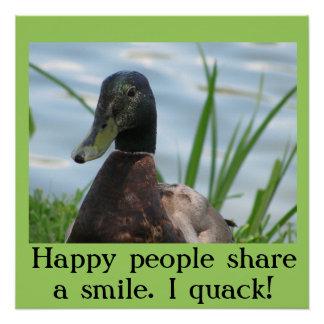 幸せな人々はスマイルを共有します。 Iにせ医者! ポスター