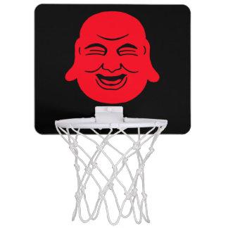 幸せな仏のバスケットボールの網 ミニバスケットボールネット