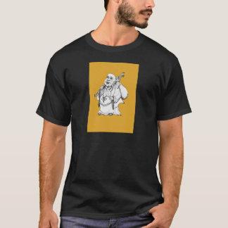 幸せな仏 Tシャツ