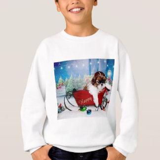 幸せな休日のシーズー(犬) Tzu スウェットシャツ