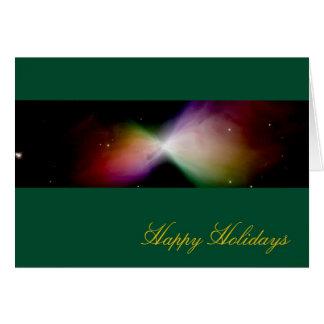 幸せな休日のブーメランの星雲-ハッブルの望遠鏡 カード