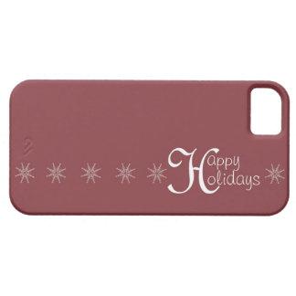 幸せな休日の雪片 iPhone SE/5/5s ケース