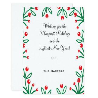 幸せな休日カード! カード