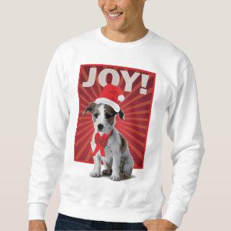 幸せな休日犬-ジャックラッセル スウェットシャツ