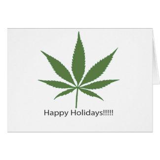 幸せな休日! カード