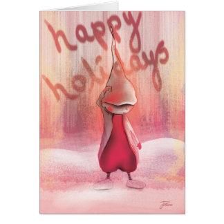 幸せな休日 カード