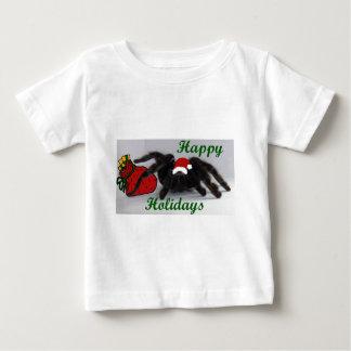 幸せな休日! …タランチュラとか。 ベビーTシャツ