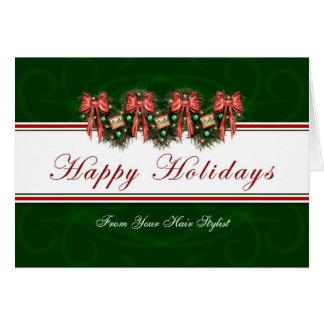 幸せな休日-美容師カードからの… カード