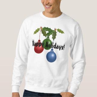 幸せな休日! 醜いクリスマスのセーター スウェットシャツ