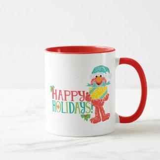 幸せな休日Elmo マグカップ