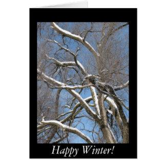 幸せな冬! カード