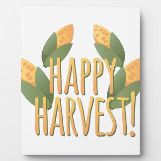 幸せな収穫 フォトプラーク