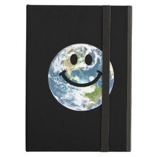 幸せな地球のスマイリーフェイス iPad AIRケース