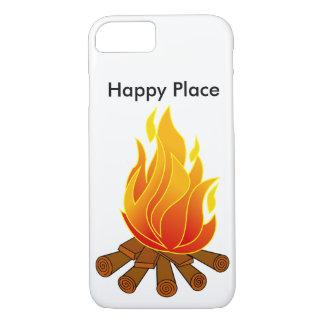 幸せな場所の電話箱 iPhone 8/7ケース
