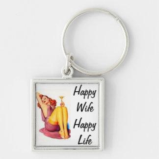 幸せな妻の幸せな生命 キーホルダー