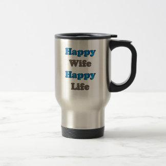 幸せな妻の幸せな生命 トラベルマグ