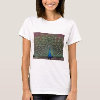 幸せな孔雀 Tシャツ