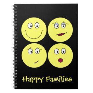幸せな家族! ノートブック