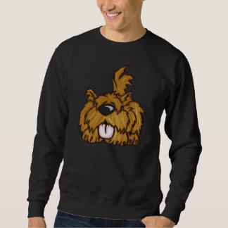 幸せな小犬 スウェットシャツ