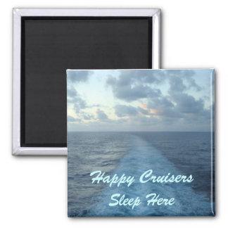 幸せな巡洋艦のドアのマーカーの磁石 マグネット