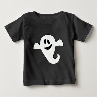 幸せな幽霊のTシャツ ベビーTシャツ