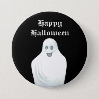 幸せな幽霊ハロウィン 7.6CM 丸型バッジ