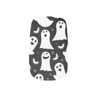 幸せな幽霊パターン ネイルアート