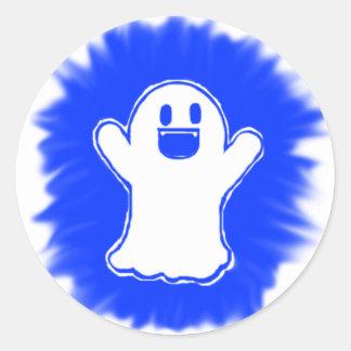 幸せな幽霊 ラウンドシール