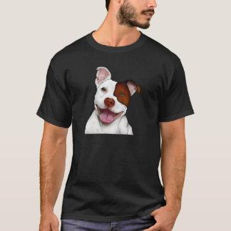幸せな微笑のピットブル Tシャツ