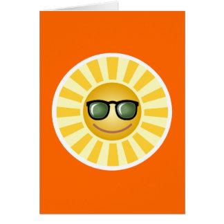 幸せな微笑の日曜日 カード