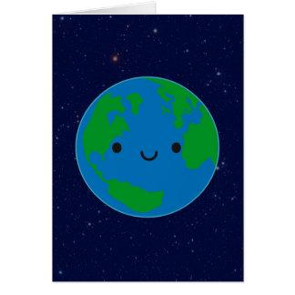幸せな惑星の地球 カード