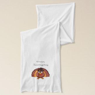 幸せな感謝祭トルコ スカーフ