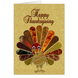 幸せな感謝祭トルコ-挨拶状 カード