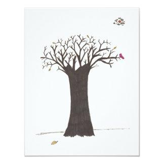 幸せな感謝祭日 10.8 X 14 インビテーションカード