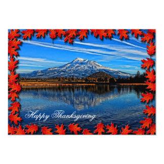 幸せな感謝祭1 12.7 X 17.8 インビテーションカード