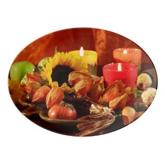 幸せな感謝祭2 磁器大皿