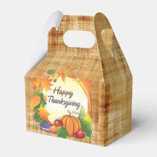 幸せな感謝祭5Aの選択 フェイバーボックス